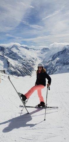 Skifahren Hintertuxer Gletscher