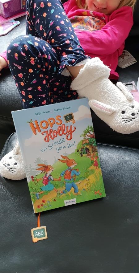 Die moderne Häschenschule Hops und Holly-Die Schule geht los
