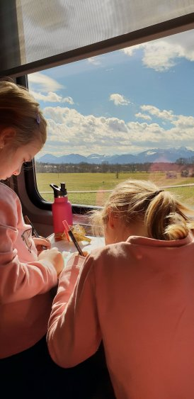 Reisebeschäftigungen für Kinder