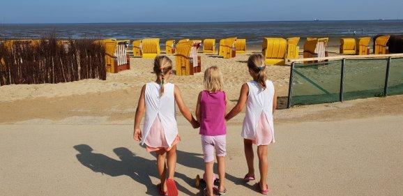 Cuxhaven Nordseeurlaub günstig mit Kindern
