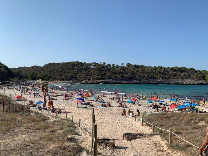 Mallorca Strand S`Aramador Naturschutzgebiet, Foto: Tanja M.