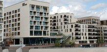 Jufa Hafencity Außenbereich