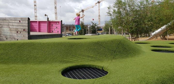 Spielplatz Baakenpark Hamburg Hafencity