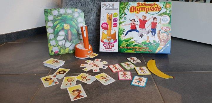 Dschungel-Olympiade Tip Toi Ravensburger