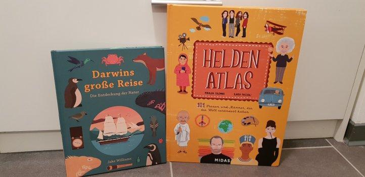 Heldenatlas und Darwins große Reise Midas Verlag
