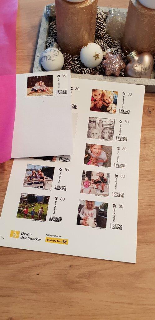 personalisierte Briefmarken MyPostcard